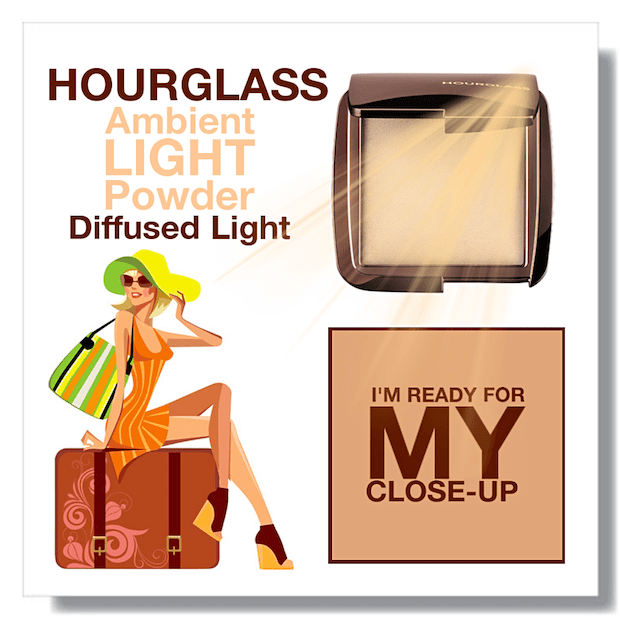 Hourglass Ambient Lighting Powder Diffused Light