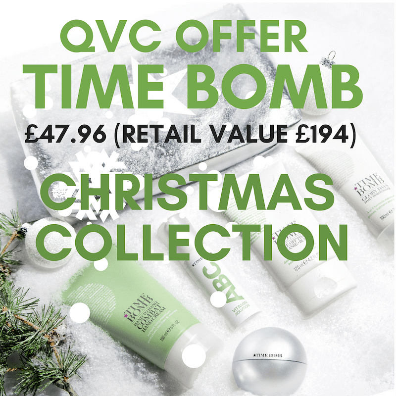 TIME Bomb Offer QVC 9th December 75% Discount