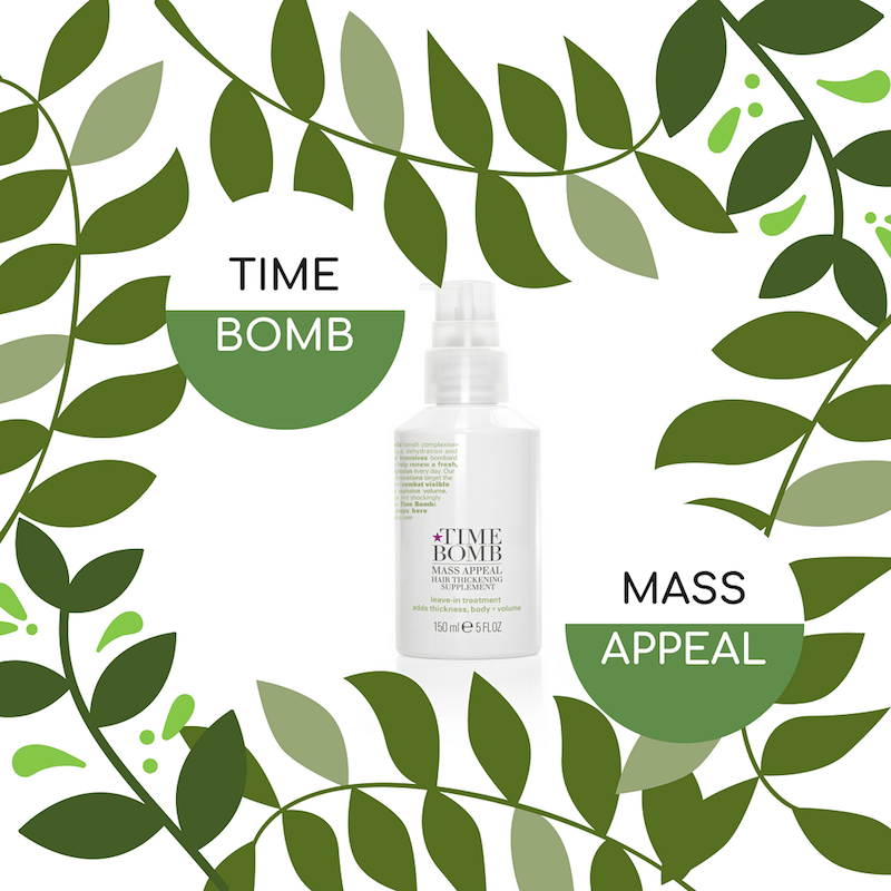 TIME BOMB MASS APPEAL Hair Thickening Supplement