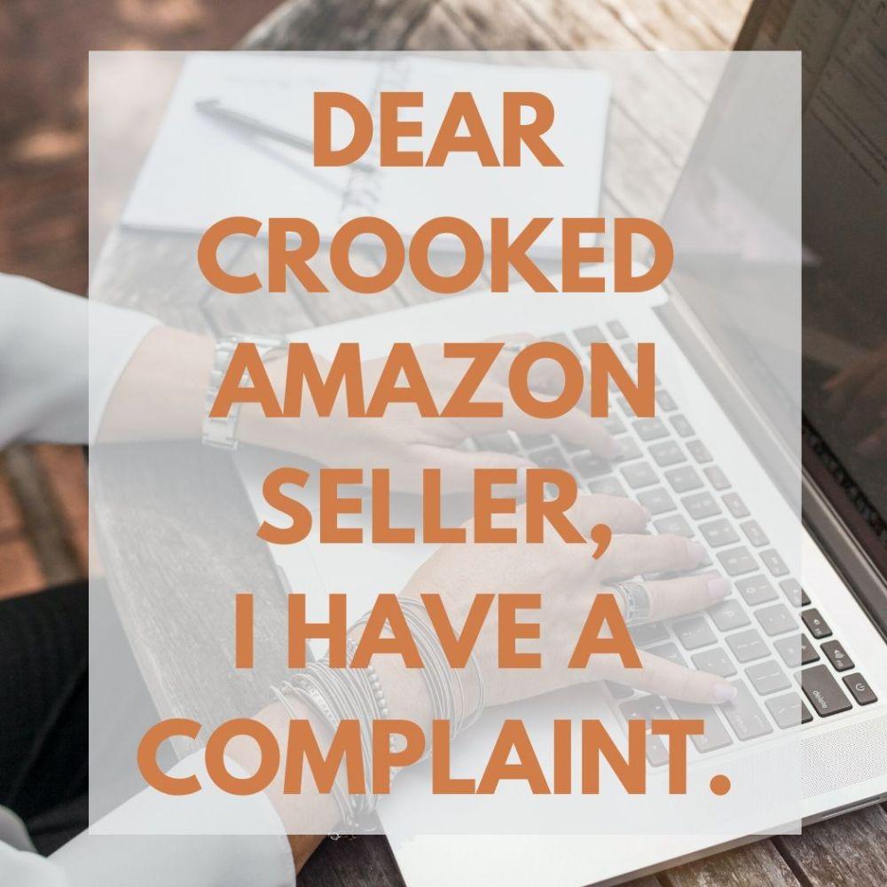 I have a complaint