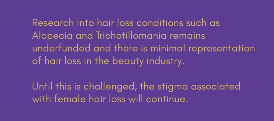 MONPURE FEMALE HAIR LOSS CAMPAIGN