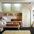 Small bedroom for minimalist space