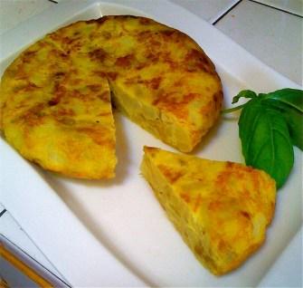 Spanish Tortilla, Truit amb Patatas, tortilla espanola