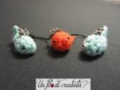 Pesciolini charm crochet