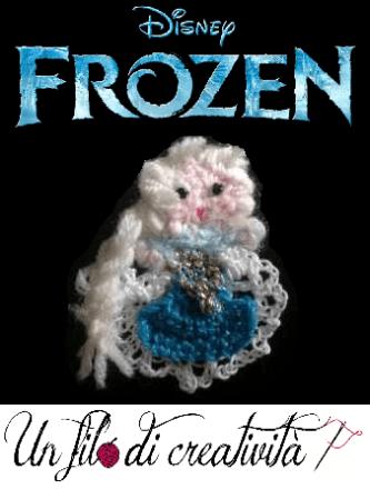 Spilla Elsa di Frozen