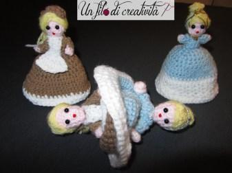 Cenerentola DOUBLE-FACE Bellissima bambola che si trasforma. Due bambole in una!!!