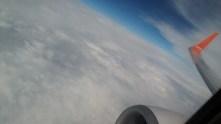 Jeju Air flight back to Korea.