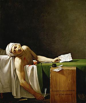 Jacques-Louis David, The Death of Marat