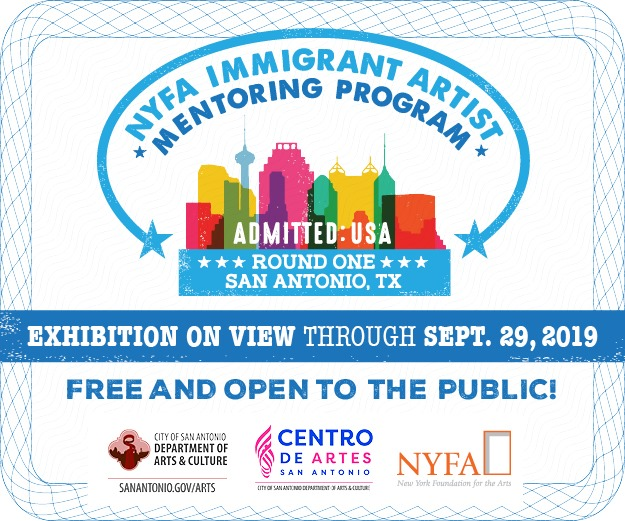 NYFA Immigrant Artist Mentoring Program Admitted USA Round