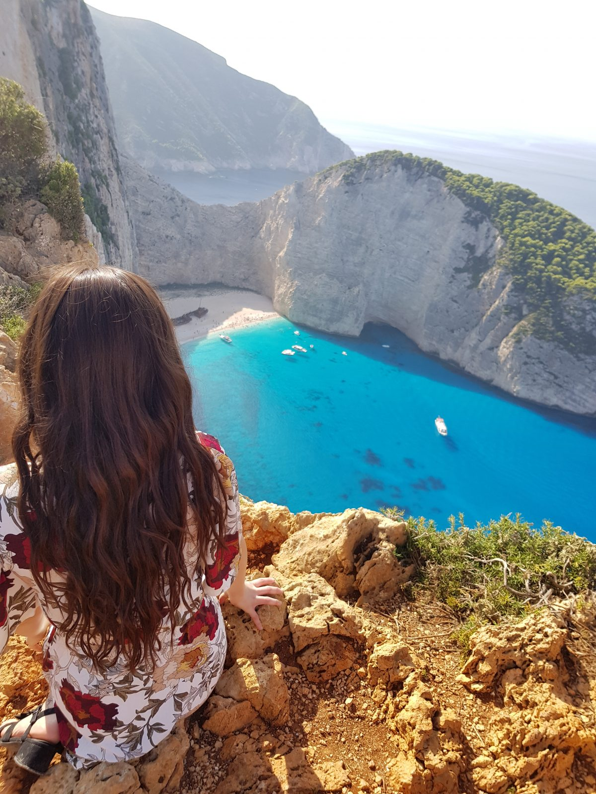 How to get to the Instagram viewpoint at Shipwreck beach Zante