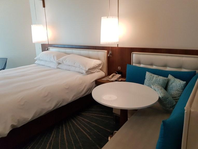 Bedroom at Renaissance hotel Aruba
