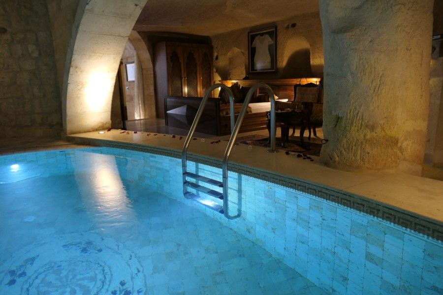 Pool view of the room