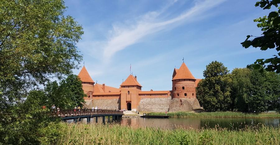 Fairytale castle in Lithuania
