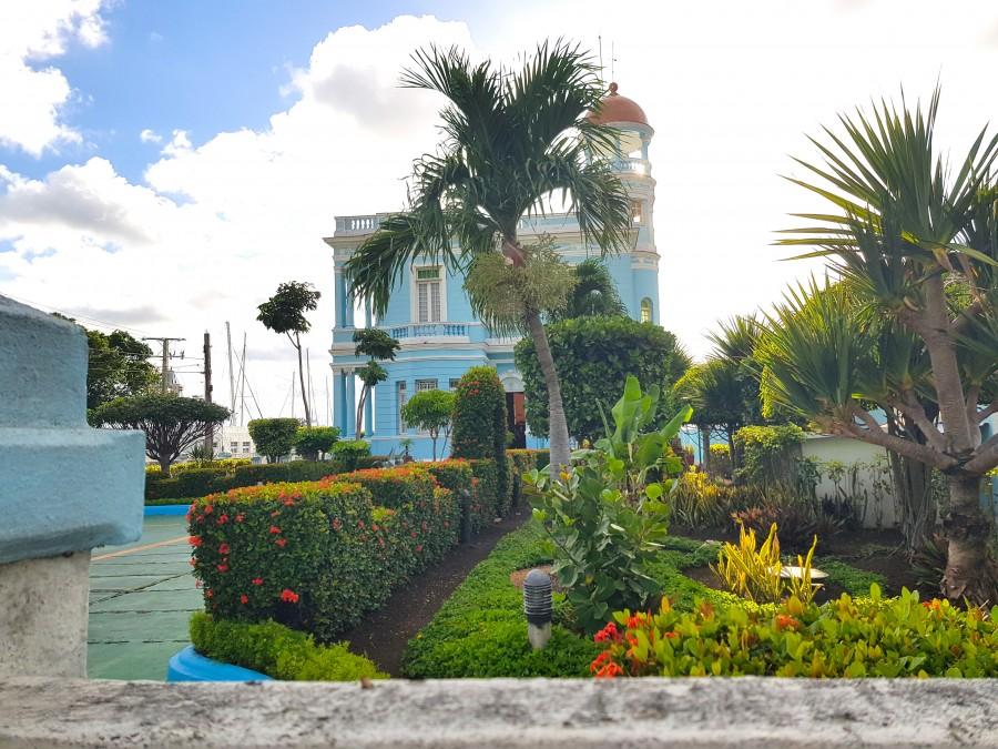 Colonial style hotel in Cienfuegos