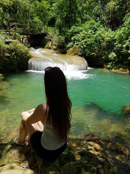 Waterfall at El Nicho