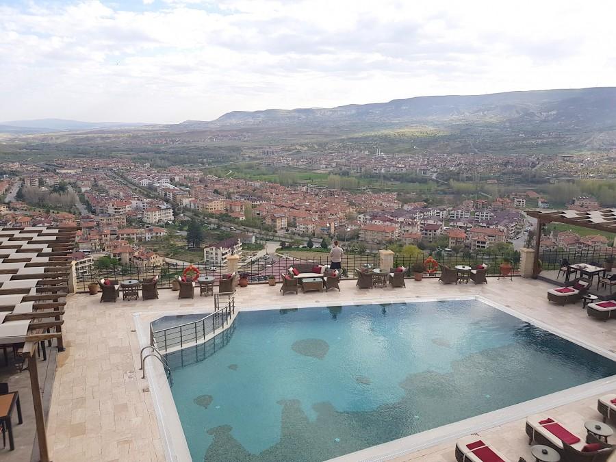 View of the main pool at Kayakapi