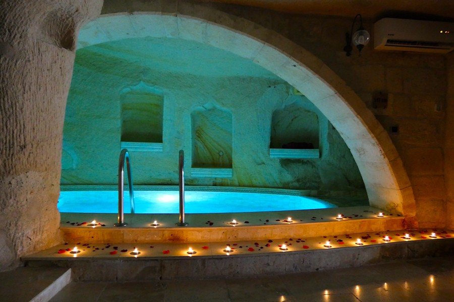 Private indoor pool in Cappadocia