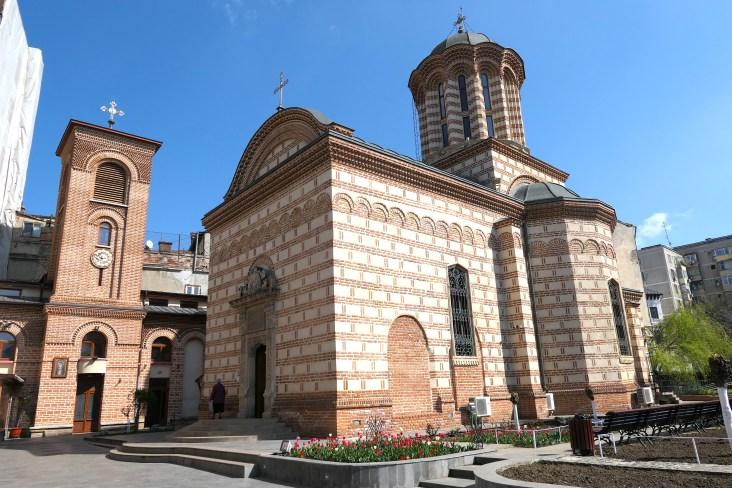 Biserica Sfantul Anton chuch in Bucharest