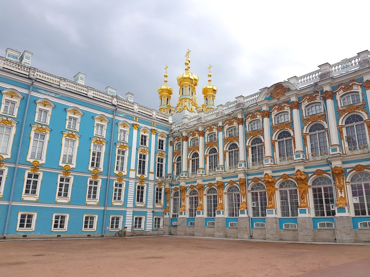 Exterior of Catherine Palace