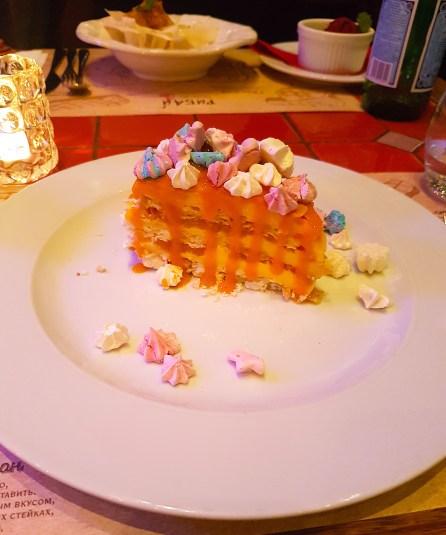 Dessert at Ribeye