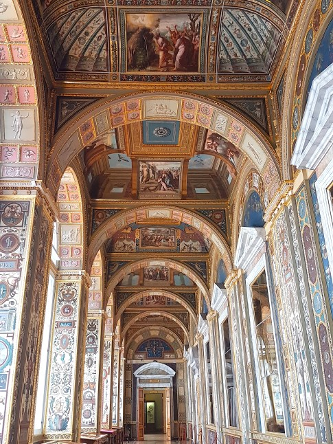 Hallway in the Winter Palace, St Petersburg