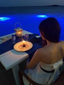 Romantic beach restaurants in Aruba