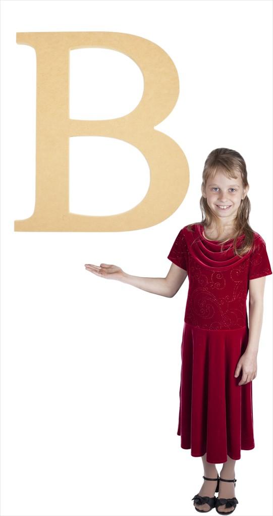 "Times New Roman 24"" Letter B"