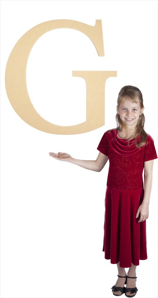 "Times New Roman 24"" Letter G"