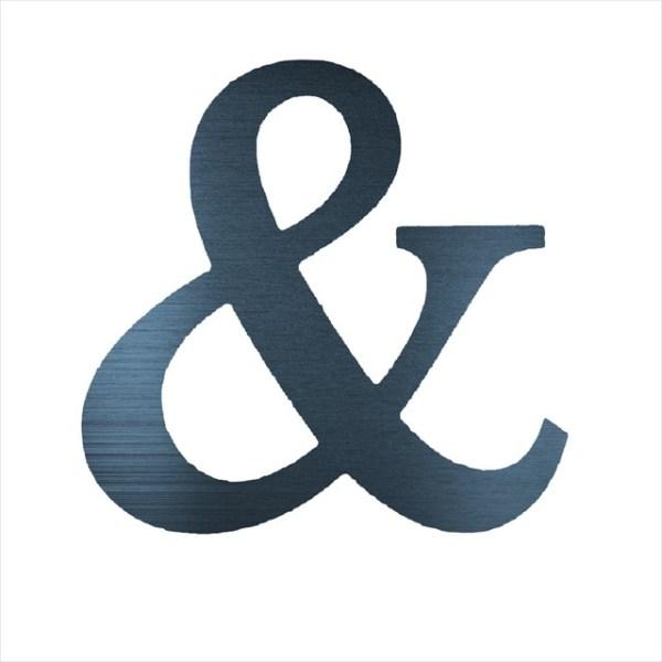 "Ampersand & (4"")"