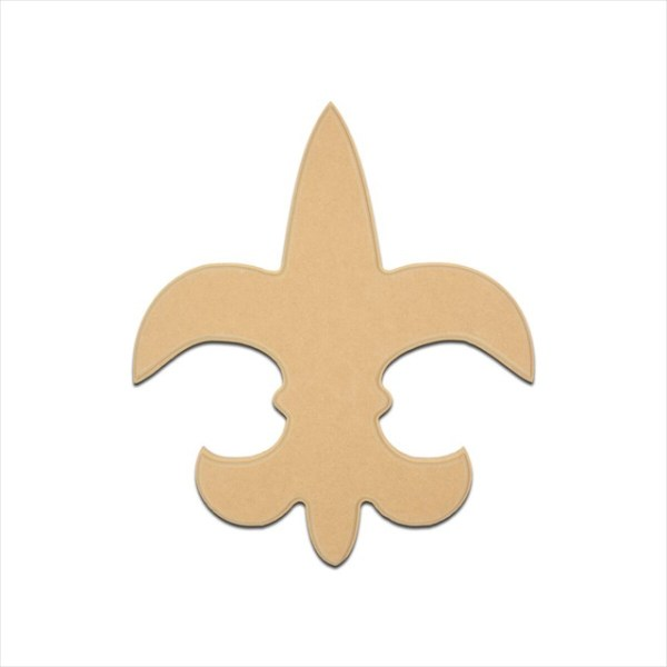 "Mini Fleur De Lis Saint 4"" Package of 4"