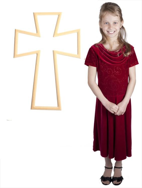 Bedazzled Germanic Cross (26x18)