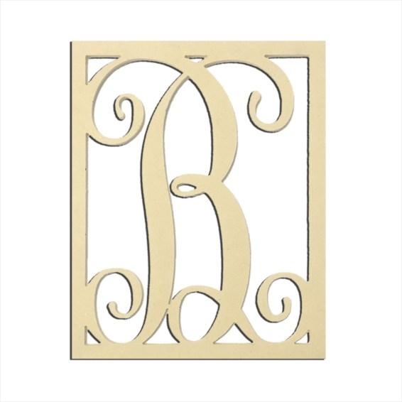 """14"""" Monogram Capital Letter B"""