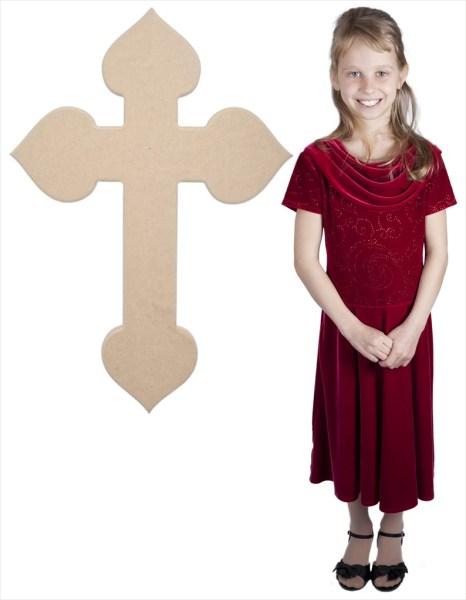 Spade Cross (36x24)
