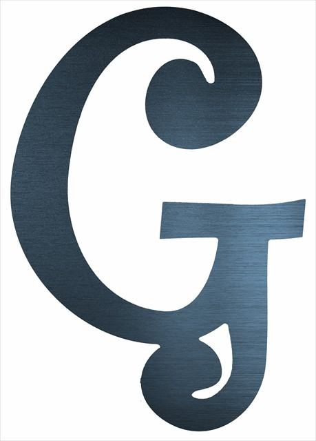 "Curly Letter G (2"")"
