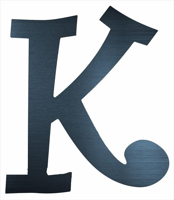 "Curly Letter K (2"")"