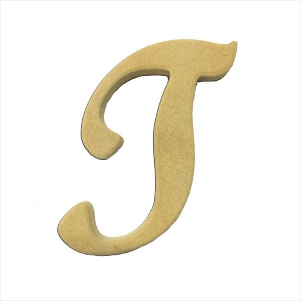 """22"""" Script Cursive Letter T"""