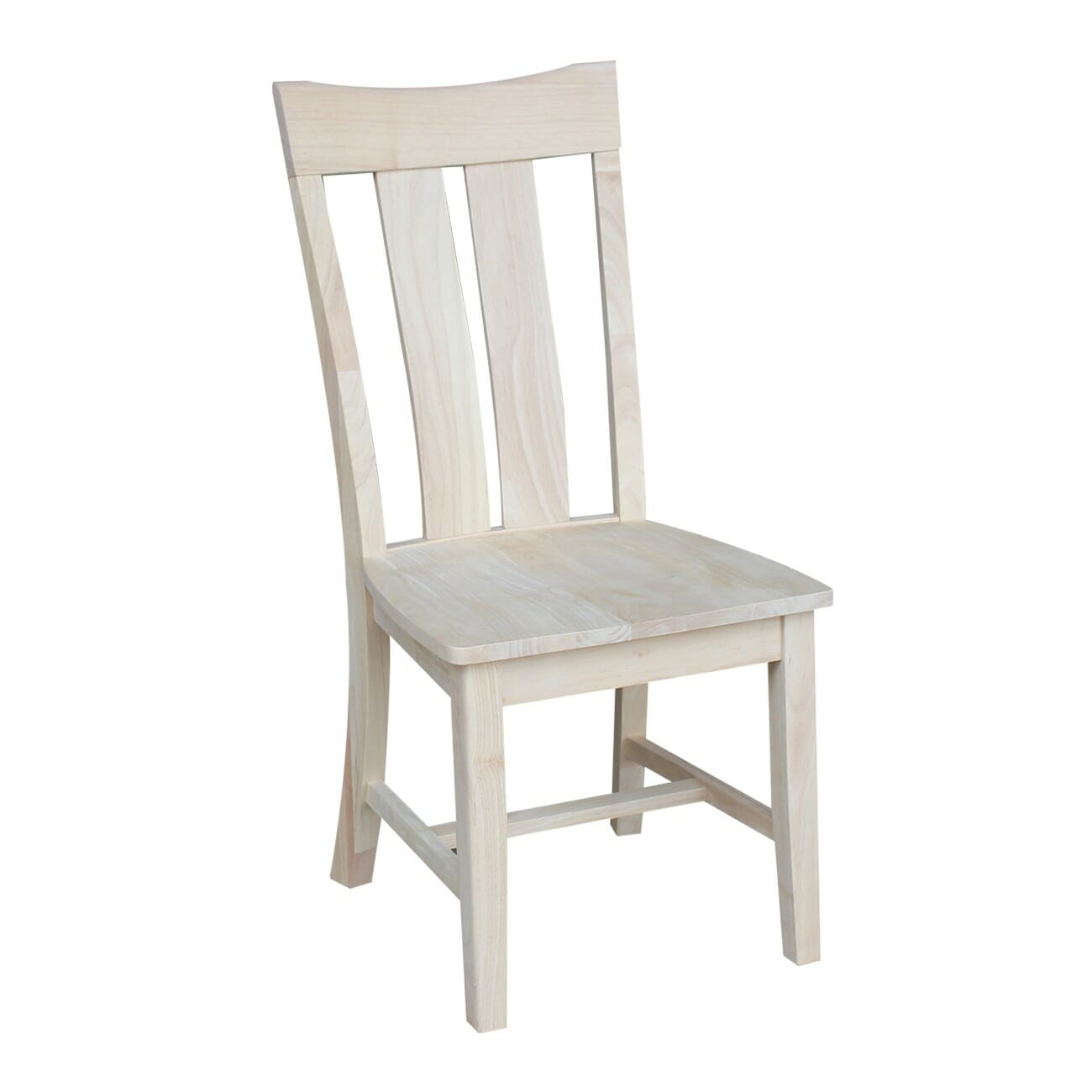 Unfinished Chair C 13 Ava Chair 2 Pack With Free Shipping Unfinished