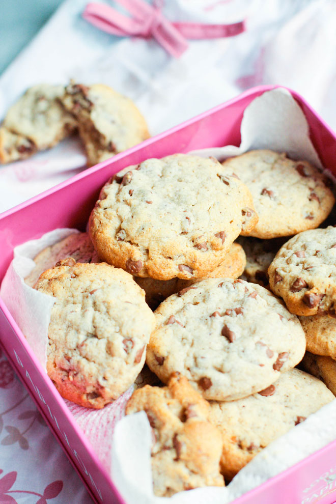 cookies choco noisette