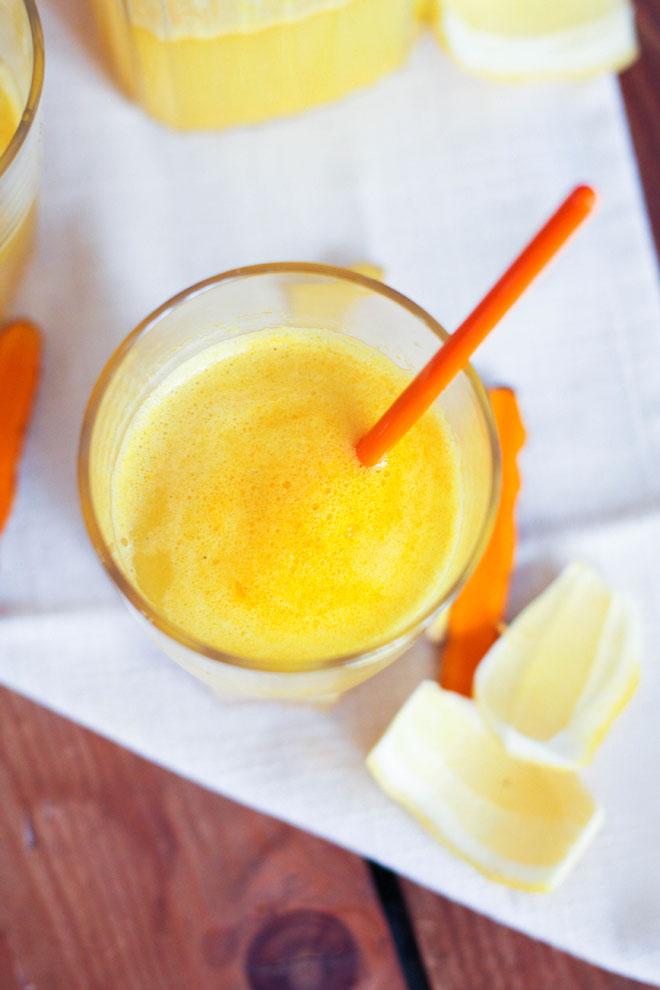 Limonade curcuma