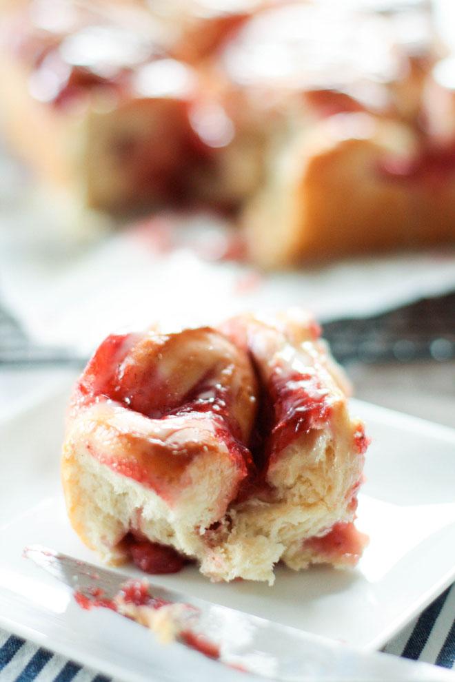 Rolls fraises