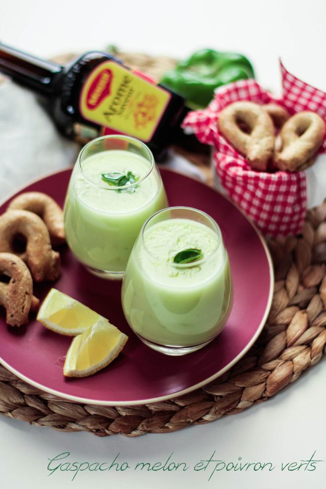 Gaspacho melon & poivrons mnt