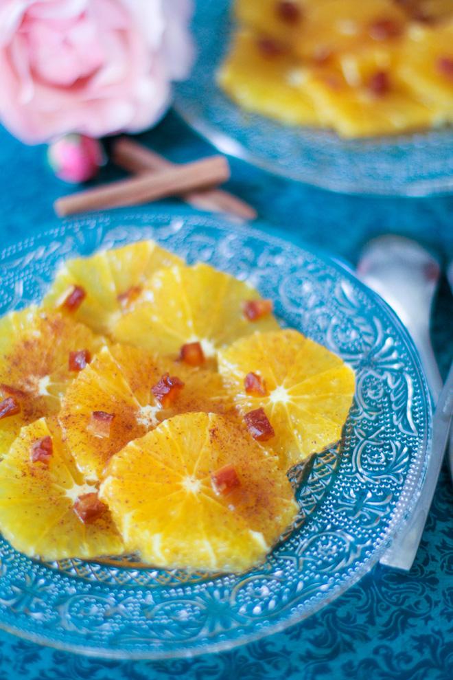Salade oranges