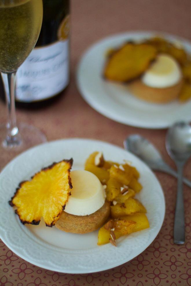 Ananas semifreddo palet breton