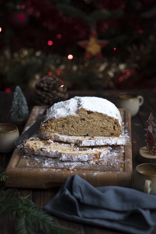 Christollen - stollen de Noël sans pâte d'amande