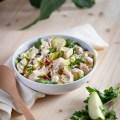 Salade de pommes de terre au poisson
