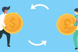 How are currency exchange rate fixed between two countries