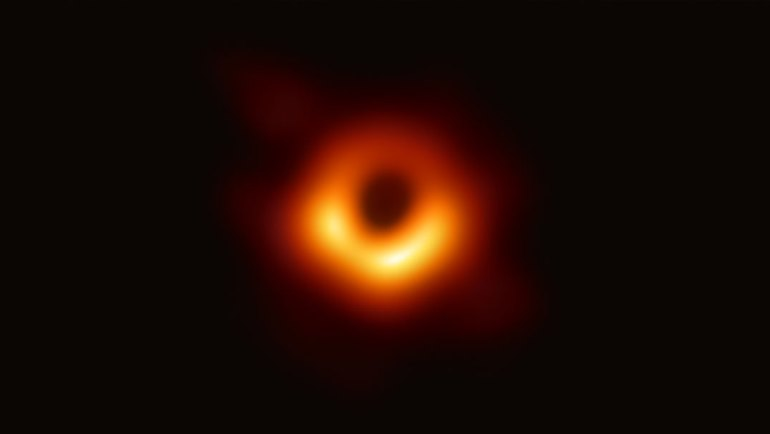 First Picture of the Black Hole