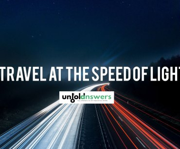 travel at the speed of light
