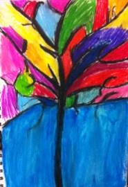 Kandinsky Tree - Louis (Acrylics)
