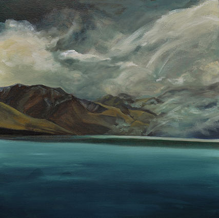 Lake Ohau II - Kadira Jennings, Oil Painting